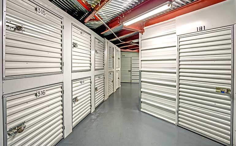 Metro Self Storage Indoor Storage Units and Storage Lockers in Pinellas Park, Florida