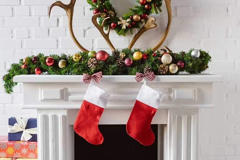 christmas stockings hanging on hearth brooklyn storage lockers make organizing easy blog