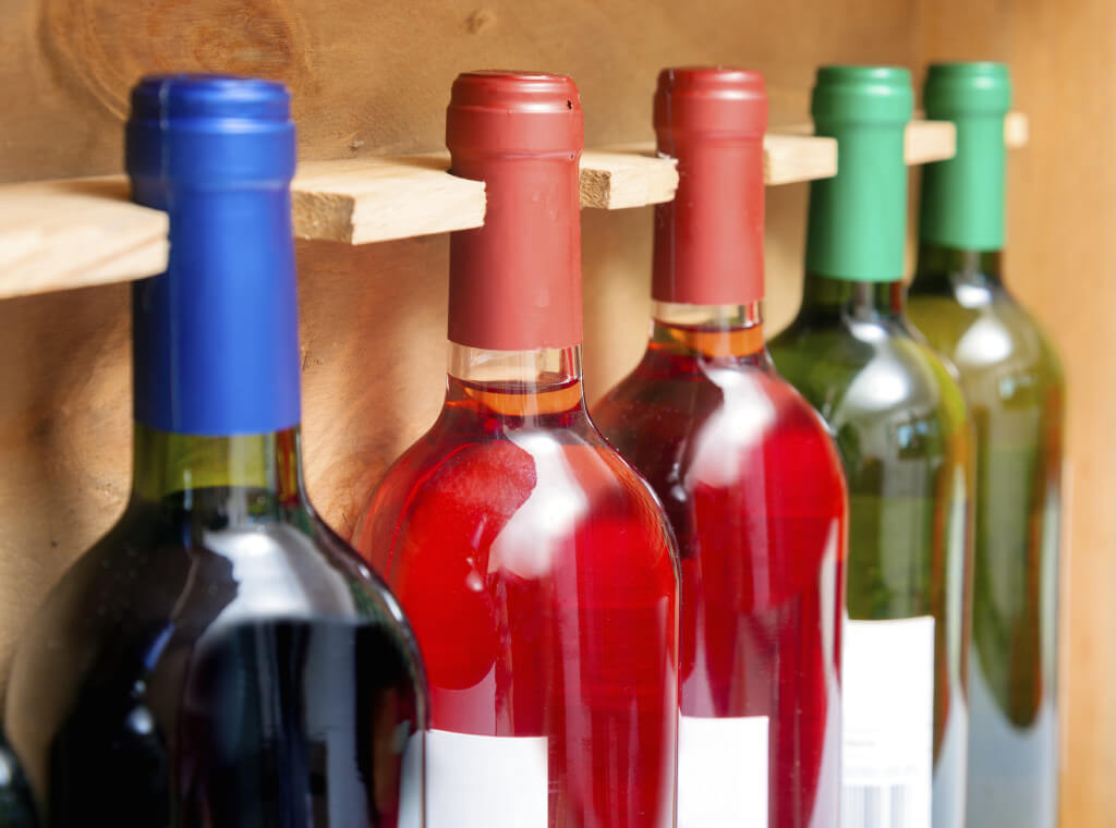 climate controlled storage for wine bottles
