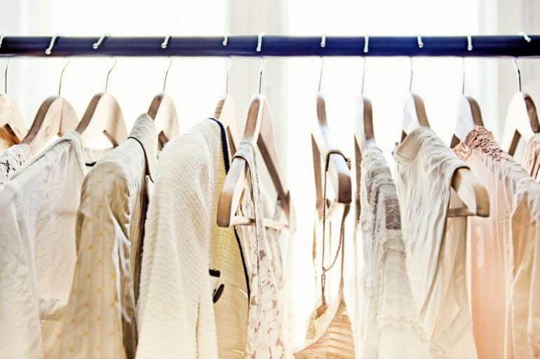 Clothes Storage Tip - Hang