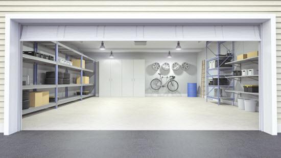 DIY Home Storage Garage Space