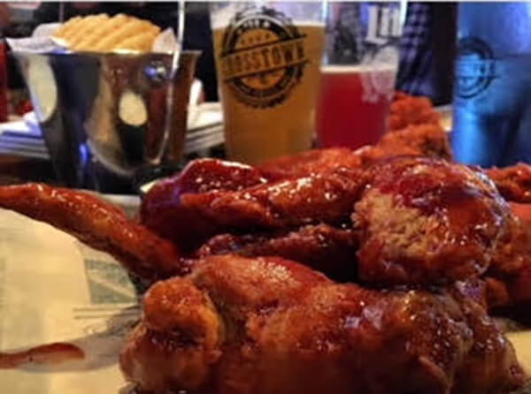 Chicken wings at Crosstown Pub Downtown Naperville