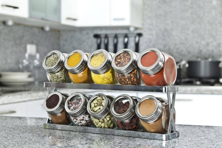 Kitchen Storage Spice Rack