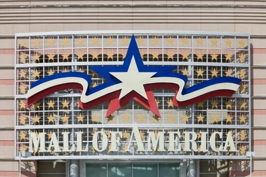 Mall of America in Minneapolis suburb of Bloomington
