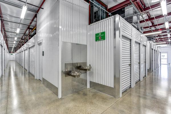 Metro Self Storage interior climate controlled building