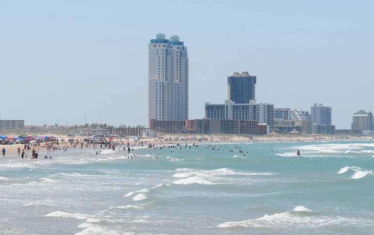 beautiful beach view inspires families