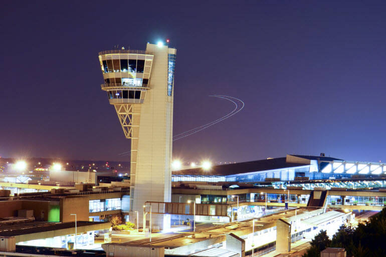 Philadelphia Airport in Southwest Philly