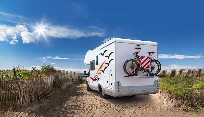 rv ready for beach travel adventure