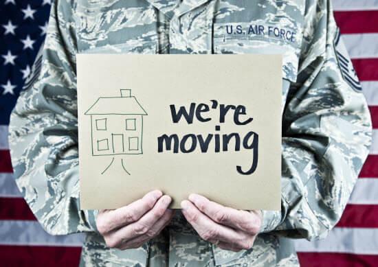 Soldier Moving to El Paso