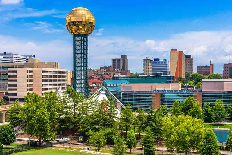 Downtown is one of the best neighborhoods in Knoxville
