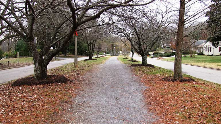The Sequoyah Greenway located in one of the best neighborhoods in Knoxville