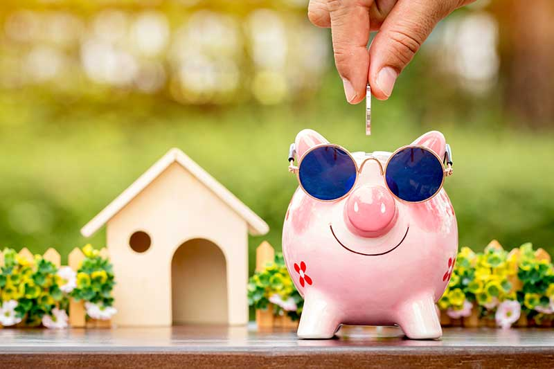 piggy bank cost of living in randolph new jersey concept