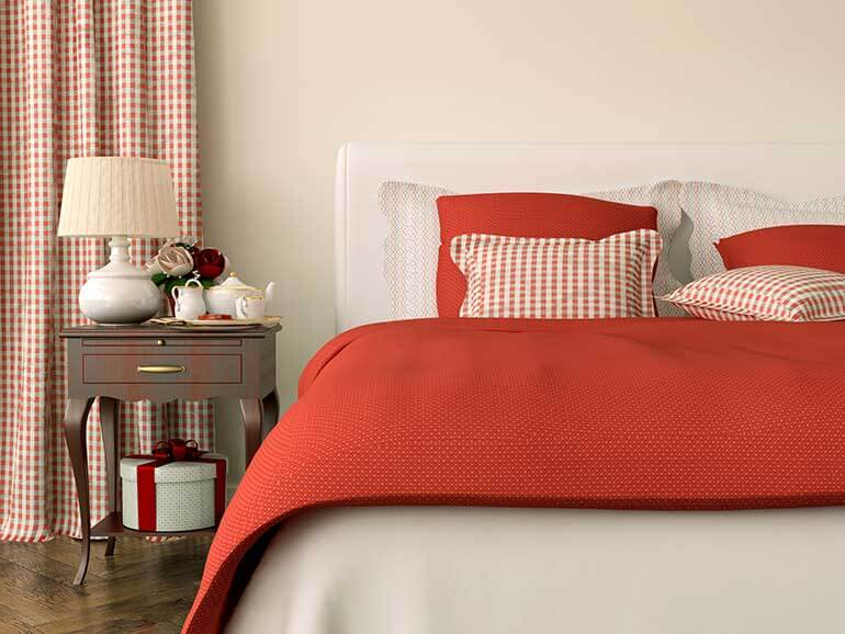 close up bed christmas guest room brooklyn storage lockers make the holidays easy