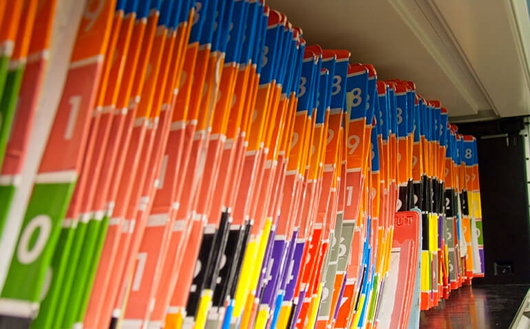 store medical records in climate-controlled storage units