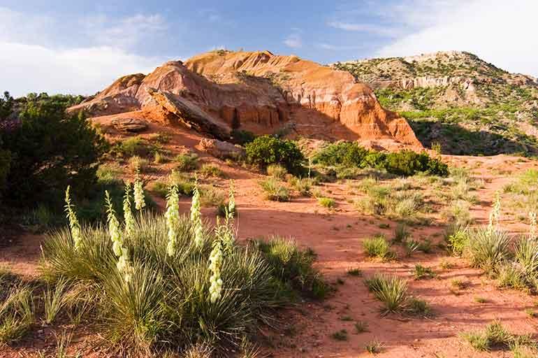 palo duro canyon near the city of amarillo