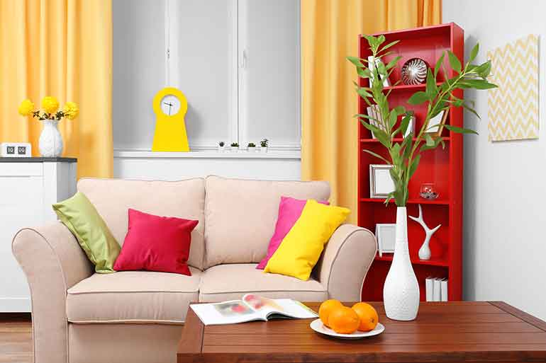 short-term-rentals-colorful-living-room