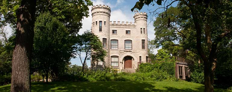 castle in beverly, a south side chicago neighborhood