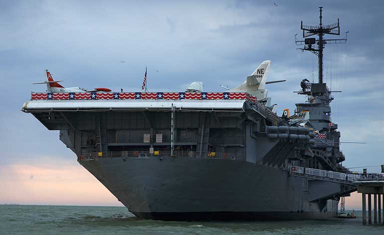 visit uss lexington for fun things to do in corpus christi