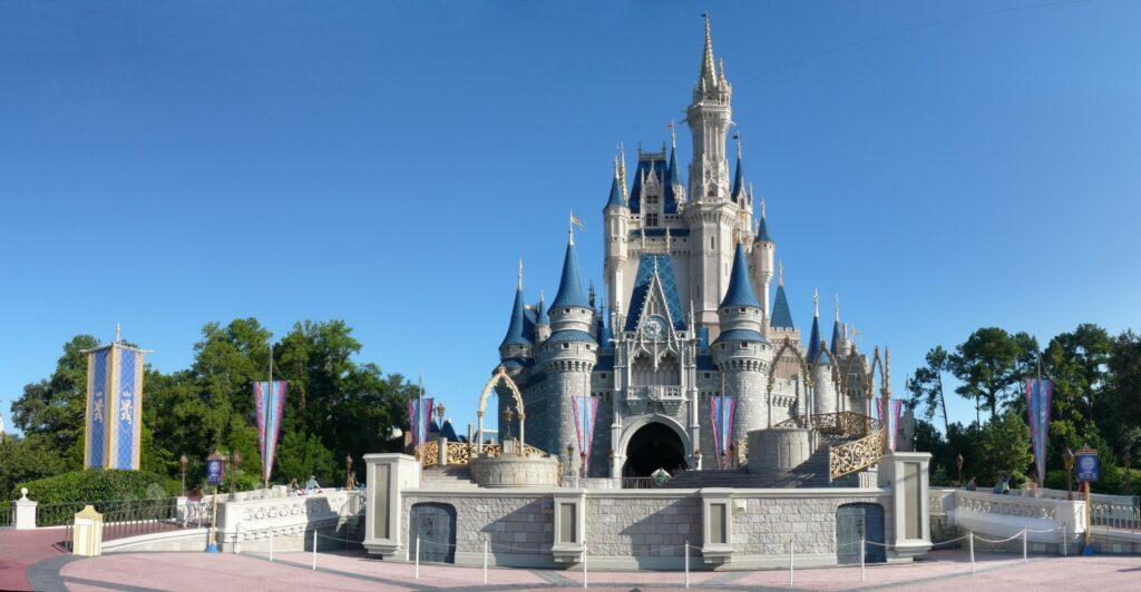 Cinderella's castle at Magic Kingdom Disrney Park.